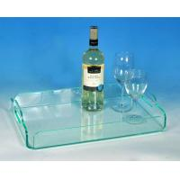 Buy cheap Modern Factory Sell Clear Acrylic Serving Trays Wholesale,Cafeteria Service Trays,Perspex Serving Tray product