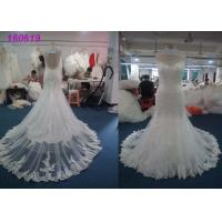 Buy cheap Fashion Princess Mermaid Wedding Dresses / Women Maxi Tulle Mermaid Bridal Gowns product
