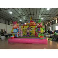 China Inflatables Clown Baby Bounce House , Indoor Games Toddler Bouncy Castle 5 X 5m on sale