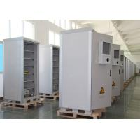 China Ip55 Metal Electrical Outdoor Battery Cabinet , Plant Power Outdoor Cabinet on sale