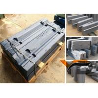 China Impact Crusher Spare Parts High Chrome Martensitic Manganese Steel Blow Bar on sale
