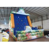 Buy cheap Amument Park Inflatable Rock Climbing Wall Mountain Sports Games 5 X 4 X 6m product