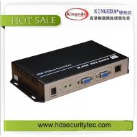 Buy cheap Promotion aluminium alloy H.264 VGA video audio streaming encoder for IPTV serve /HD video to IP product