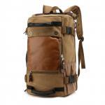 Buy cheap Estilo negro del vintage de la mochila del viaje de la lona 40l de los adolescentes, bolso impermeable del viaje product