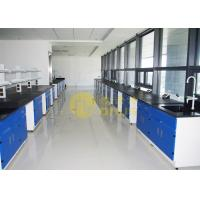 Buy cheap Epoxy Resin Laboratory Worktops Glare / Matte Finish With Reagent Shelf from wholesalers