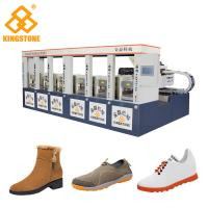 Single / Double Color Rubber Sole Making Machine for Men Leisure Shoes Sandals