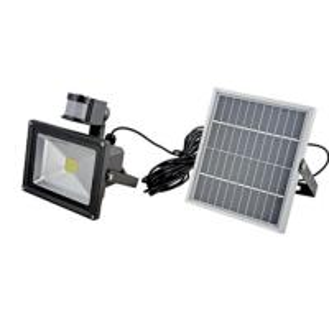 China IEC / CE Monocrystal Solar LED Flood Lights with PIR sensor on sale