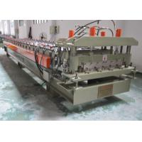 Buy cheap Color Glazed Tile Making Machine , Steel Tile Roll Forming Machine With Press Mould product