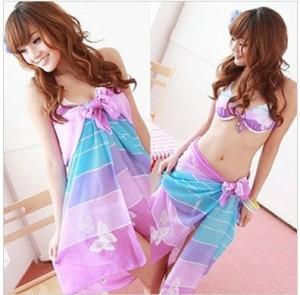 China Silk Pareos Sarongs, Printed Pareos and Beach Pareos (FG-S038TT) on sale
