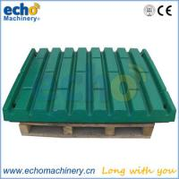 Buy cheap mining jaw crusher spares Metso C80 tooth plate for crushing granite,limestone,rocks product