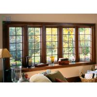 China Light and Modern Material Aluminium Casement Waterproof Double Glazing Window on sale