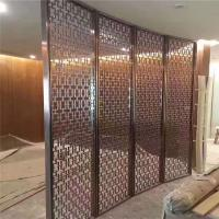 Buy cheap Restaurant room divider metal screen  decorative partitions with color finish product