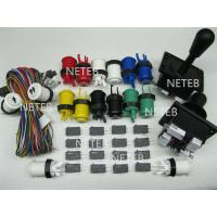 Buy cheap Joystick Pack, 2 Joysticks and 16 Micro switches,jamma harness product
