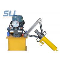 Buy cheap Portable Manual Hydraulic Steel Bending Machine / Concrete Spraying Equipment from wholesalers