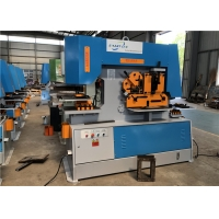 Buy cheap Metal Sheet Stamping 90t Hydraulic Ironworker Machine product