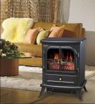 Buy cheap log burning flame electric fires stoves FIREPLACE ND-18E1 chimenea Sentik Milton Estufa product