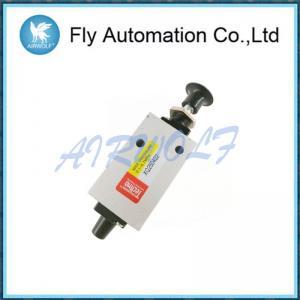 China Metal Pneumatic Manual Valve Direction Control Pneumatic Push Button Valve XQ250422 on sale