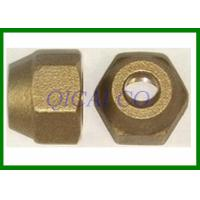 Buy cheap Bronze Brass nut / bolt , customize all kinds of machine components product