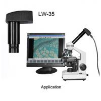 Buy cheap LW-35 0.35M pixel microscope camera electronic eyepiece product