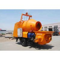 China JBT30 concrete pump with mixer with 450L mixing drum and 30m3/hr pumping capacity on hot selling on sale