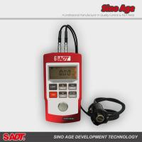 Buy cheap Portable wall thickness gauge SA40+ with normal and multiple echo(MEC)  mode in red or black color product