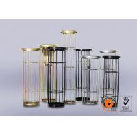Buy cheap Dust Collector Filter Bag Cage Galvanized Surface Treatment Free Samples product