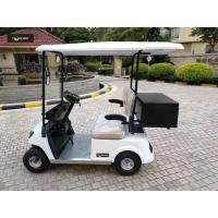 Buy cheap Aluminum Chassis 48V Two Seaters Electric Mini Golf Car For Portable Valuables product