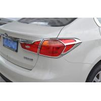 China 2013 2015 Kia K3 Headlight Covers Plastic ABS Tail Lamp Cover Garnish on sale