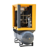 Buy cheap 5.5KW Electric Screw Air Compressor with 300L receiver compressor de aire product