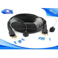 Buy cheap Waterproof Outdoor Fiber Optic Patch Cord ODLC / PDLC Duplex or Simplex product