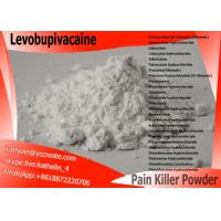 Buy cheap Surgical Anaesthesia Powder Local Anesthetic Drugs Levobupivacaine CAS NO 27262-47-1 product