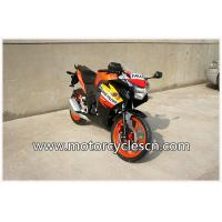 Buy cheap High Performance CBR150 Drag Racing Motorcycles With 4 Stroke Air-cooled Orange product