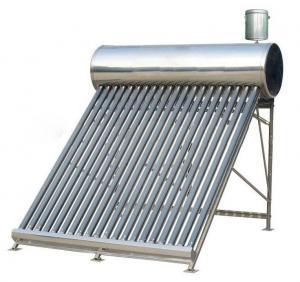 Chauffe-eau solaire non-pressurisé compact de système Thermosyphon avec le réservoir 5L auxiliaire