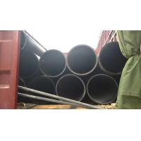 China DN350 ISO4427 PE100 PE 80 hdpe pipe for water supply, drainage, sand dredging on sale