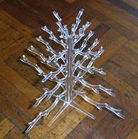 Buy cheap Professional quality transparent outdoor acrylic christmas tree for Gift/Oranments product