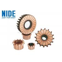 Buy cheap 24 Segments Electric Motor Spare Parts Hook Type Commutator For Vacuum Cleaner product
