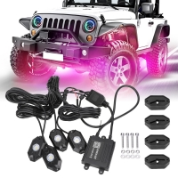 Buy cheap 4x4 Rgbw 4Pods Underglow Lights For Four Wheeler product