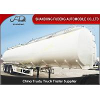 Quality 3 Axles Petrol Fuel Tanker Semi Trailer For Crude Oil Transportation for sale