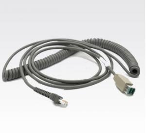 Buy cheap 12В свернутое спиралью КБА-У08-К15ЗАР привело УСБ в действие к кабелю РДЖ45 10П10К для серии блока развертки product
