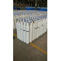 Buy cheap 40L - 80L 150 bar  Seamless Steel Compressed Gas Cylinder For High Purity Gas ISO9001 from wholesalers