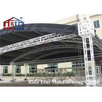 Buy cheap Portable Aluminum Stage Light Truss , Circle Roof Truss For Concert Event product
