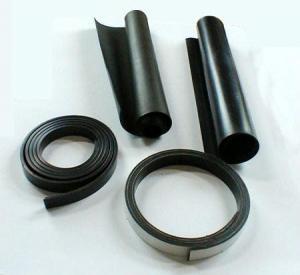 Buy cheap Imanes de goma flexibles de las hojas magnéticas del negro de la resina de epoxy product
