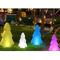 Buy cheap Color Changing Remote Control Tree LED Pillar Lights for Christmas Holiday Decorative product