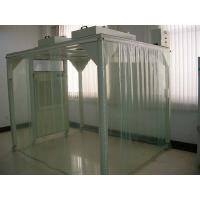 Buy cheap Portable Softwall Modular Clean Room / Class 100 Clean Booth Class 1000 Purification product
