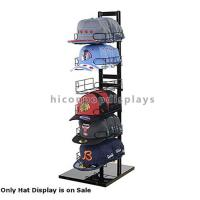China Sportswear Products Store  6 - Layer Retail Display Fixtures Counter Top For Hat / Cap wholesale