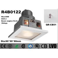 China Max 50W GU5.3 with Frosted Glass Anti-flog&Anti-UV Dia 90*90*88mm Dimmable Spot Downlights wholesale