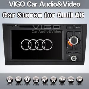 Buy cheap Audi A6/S6/R56 1997-2004 In Car Stereo Sat Nav Auto Radio GPS Navigation VAA7182 product