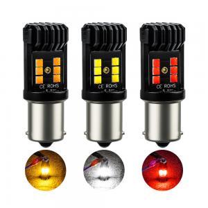 Buy cheap 3030 BA15S P21W 1200lm Car 3030 LED Tail Light Bulbs product