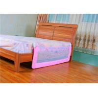 Buy cheap Mesh Portable Adjustable Bed Rails / Pink Toddler Bed Railing product