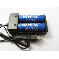 Buy cheap US Plug 2A Universal Li Ion Battery Charger For Li Ion Batteries 20700 Cells product